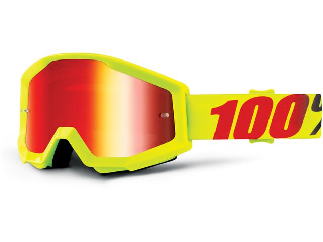 100% Strata Goggle Mercury-Mirror